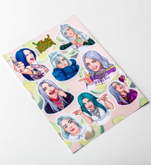 stickerpack_billie eilish