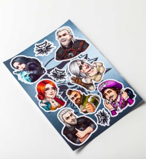 stickerpack_vedmak